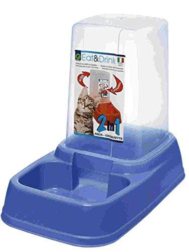 Dispenser Distributore automatico EAT & DRINK 3,70 litri per acqua e cibo