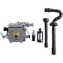 HIPA Carburateur + Filtre + Tuyau d'Essence / d'Huile pour Tronçonneuse STIHL 021 023 025 MS210 MS230 MS250