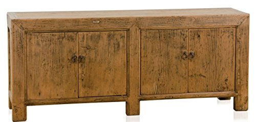 Casa-Padrino Country Style Sideboard/Cabinet Antique Style Brown 160 x 40 x H. 67 cm - Country Style Collection