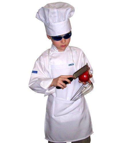 chefskin-small-white-kid-children-chef-set-apron-hat-lite-fabric-fits-2-8