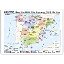 España, político / físico: Mapas de Escritorio ()