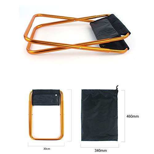 Zoom IMG-1 taozyy sgabello pieghevole portatile grande