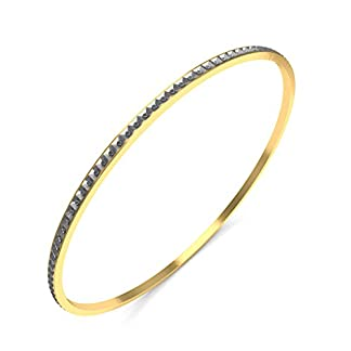 BlueStone 18k (750) Yellow Gold Edmonda Bangle