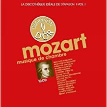 La discothèque idéale de Diapason, vol. 1 / Mozart : Musique de chambre.