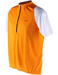 Protective Grafton Herren Fahrrad Trikot Orange Kurzarm Jersey Rad Sport Mesh, 203012-430