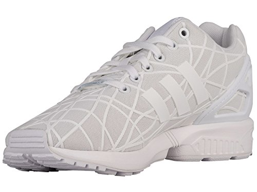 Adidas Zx Flux Synthetic Laufschuhe White/White/White