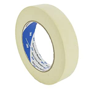 "Scotch 3M 12 Rolls, Highest Quality 3M Scotch Branded Masking Tape 25mm (1"") Wide X 50m Long"