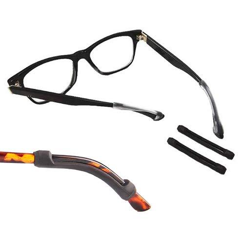 10 Paar Anti-Rutsch-Bänder für Brillen als Halterung, Silikon, Brillen-Ohrhaken für sportliche Aktivitäten, Komfort, Sonnenbrillen-Halterung