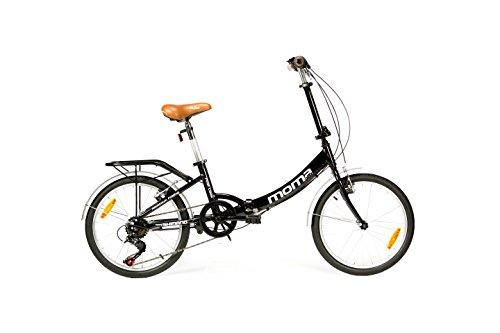 Moma Bikes Bicicleta Plegable ruedas 20' SHIMANO 6...