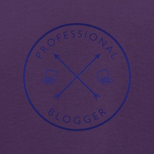 Professioneller Blogger - Herren T-Shirt - 13 Farben Lila