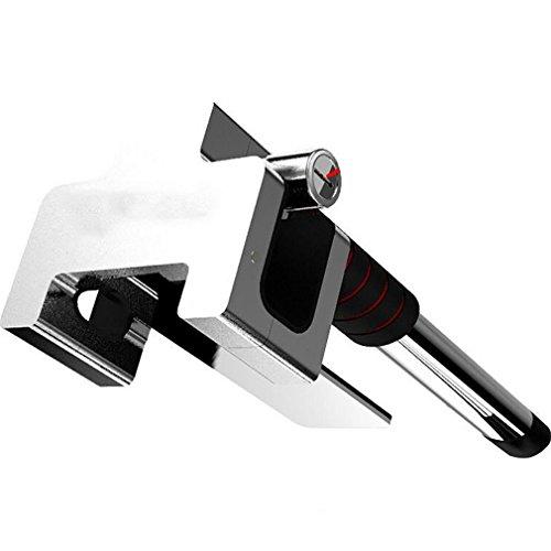 Preisvergleich Produktbild QXXZ Universal Fahrzeug Auto Top Mount Lenkrad Anti-Diebstahl-Sicherheitsschloss Mit Schlüssel Anti-Diebstahl-Geräte