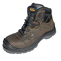 Lion Safety 5516 S3 Nubuck Leather Composite Toe and Textile Sole Safety Boot