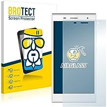 BROTECT AirGlass Protector Pantalla Cristal Flexible Transparente para Hisense Infinity H3 HS-U988 Protector Cristal Vidrio - Extra-Duro, Ultra-Ligero, Ultra-Claro