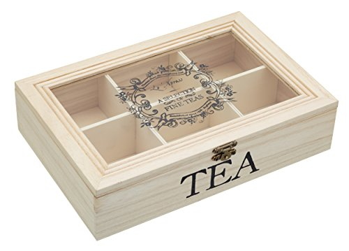 tea boxes with compartments. Black Bedroom Furniture Sets. Home Design Ideas