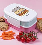 "Thumbs Up Porta Pranzo Pusheen-Lunch Box €"" Set da 2, Pink, 13 x 20 x 9.5 cm"