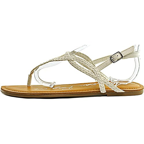 American Rag Keira Femmes Synthétique Tongs white