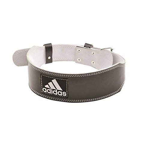 Adidas ADGB-12236 Cinturón para Levantamiento de Pesas, Unisex, Negro, XL