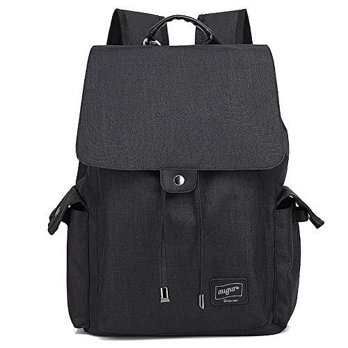 AUGUR Oxford-Stoffrucksack/Laptop-Reise-Notebook-Rucksack/Mit USB-Ladeanschluss Für Männer Und Frauen/Leichter Wasserdichter Rucksack Durable Casual Fashion
