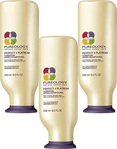 Conditioner Perfect Hair Care 4 Platinum (for colored hair) 250 ml / 241 gram, 3 pack (3 x 250 ml)