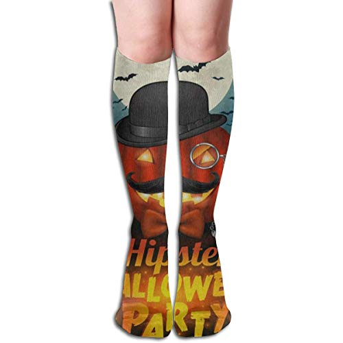 Roue Socks Hipster Halloween Pumpkin Moon Bat Tree Fantastic Womens Stocking Party Sock Clearance For Girls