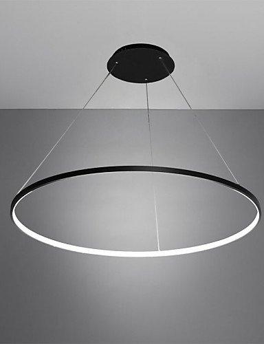30w Pendelleuchte modernes Design/LED-Ring/ 220V~120V~240/100/Special für Büro, Showroom, Wohnzimmer, Weiß-220-240v #1022 -