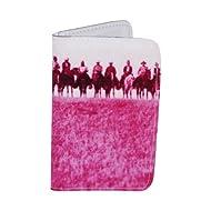 Porte-cartes Cowboys Roses du Texas, pour Cartes de Visite et Cartes Bancaires