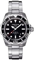 Certina Herren-Armbanduhr XL Analog Automatik Edelstahl C013.407.11.051.00