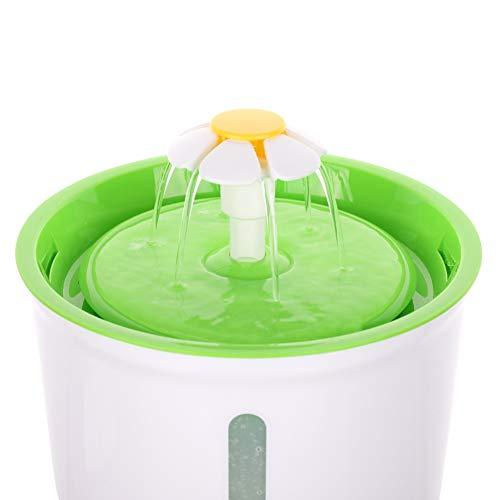 Etophigh Haustier-Brunnen-Katze-automatische Wasserspender-Hunde-Katzen-gesunder hygienischer Trinkbrunnen 1.6L superbequeme automatische Wasser-Schüssel - Wasserschale Brunnen Hund