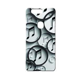 BLUEDIO Designer 3D Printed Back case cover for Huawei Honor V8 - G4128
