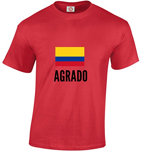 T-shirt Agrado city rossa