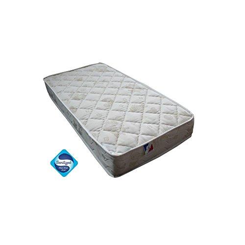 Doux-Sommeil-MRBEB2F-08PL-materasso-traspirante-molle-con-lato-invernale-in-lana-vergine-francese-dimensioni-60-x-120-cm