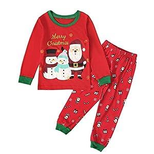 2-7 AñOs Niños Niña Bebés Ropa OtoñO Invierno Manga Larga Navidad Tops CháNdal Mameluco Body Camiseta +Pantalones Ropa… 7