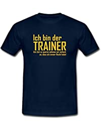 Trainer Hat Immer Recht Männer T-Shirt von Spreadshirt®