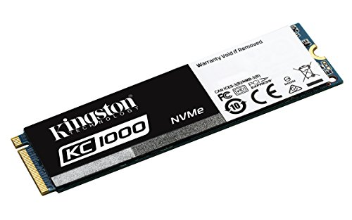 Kingston KC1000 - SSD NVMe PCIe de 240 GB, Gen2 x4 (M.2 2280)