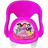 Baby Chair | Baby Chairs For Sitting With Cushion | Baby Chair For Kids 1-5 Years (Pink)