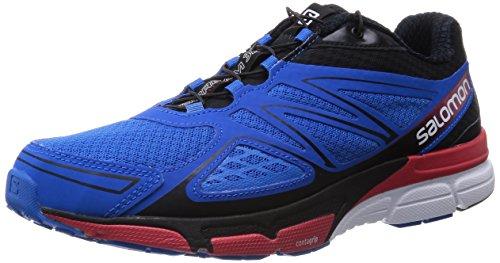 Salomon X-Scream 3D, Herren Traillaufschuhe, Blau (Union Blue/Black/Quick), 42 EU (8 Herren UK)