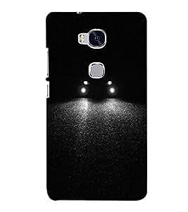 FUSON Sports Car Light Bim 3D Hard Polycarbonate Designer Back Case Cover for Huawei Honor 5X :: Huawei Honor X5 :: Huawei Honor GR5