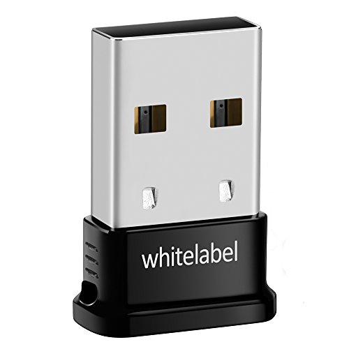Whitelabel Bluetooth 4.0 USB Dongle Adapter for PC with IVT BlueSoliel, Bluetooth Transmitter and Receiver For Windows 10 / 8.1 / 8 / 7 / Vista - Plug and Play on Win 7 and above