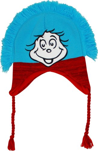Dr. Seuss The Cat In The Hat Thing One and Two Peruvian Laplander Hat