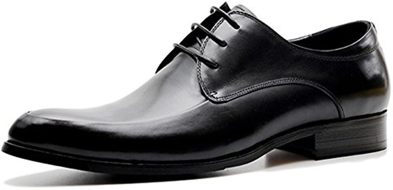 Oxford Schnürschuhe Schuhe Business Casual Brogue Schuhe Herren Vintage Echtleder Utility Footwear Für Bankett
