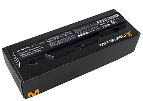 Mitsuru® 4400mAh batterie ordinateur portable Laptop pour Hewlett Packard HP Probook 4510 4515 4515s 4515S/CT 4515-s 4515SCT 4710 4710s 4710-s 4710S/CT 4710SCT 4720 4720s 4720-s 4510s 4510-s 4510S/CT 4510SCT