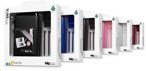 """Nintendo DSi XL - Zubehör-Pack """"Pure XL"""" (farbig sortiert)"""