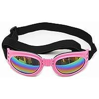 Aolvo Gafas de Moda para Perros, Gafas de Sol UV de Protección para Las Mascotas