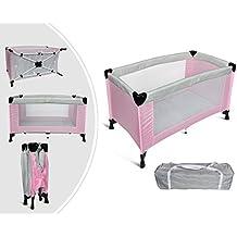 Leogreen - Cuna de viaje para bebés - Bolsa de transporte gratuita - Carga máxima: 55 libras - Se puede utilizar para niños menores de 3 años