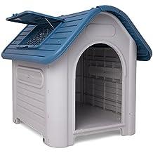 dmail – Maxi Caseta Perros con techo desmontable