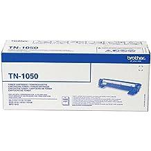 Brother TN1050 - Tóner negro (duración estimada: 1.000 páginas según ISO/IEC 19752)