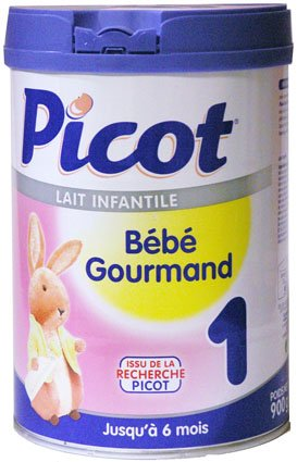 Picot-Lait Bébé Gourmand 1er Age De 0 à 6 Mois Picot, 900g