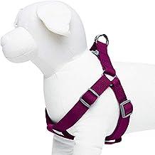Umi. by Amazon - Classic – Einfarbiges Hundegeschirr, Brustumfang 51 cm–66 cm, Lila, Medium, größenverstellbares Geschirr für Hunde
