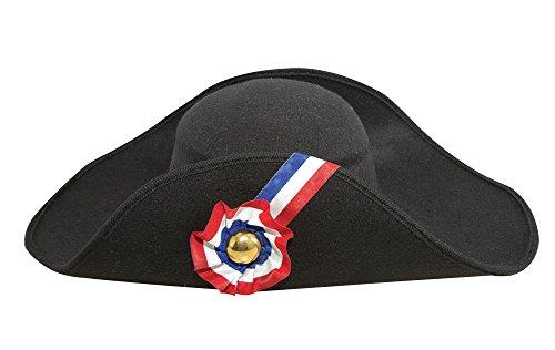 Ptit Clown P  tit payaso – 92571 – Sombrero imitación lana Napoleón adulto  – Talla eda26bab77a