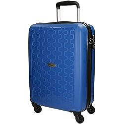 Movom Zig - Zag Equipaje de Mano, 55 cm, 35 litros, Azul